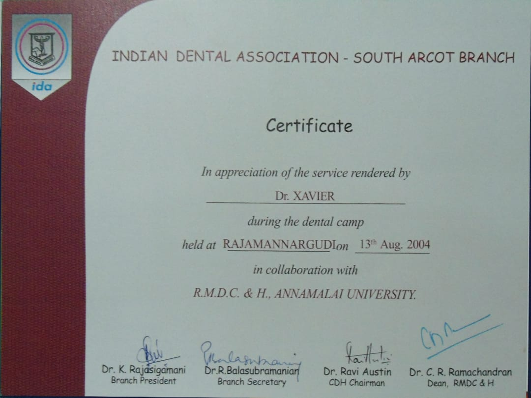 Xavier Dental Clinic Madurai